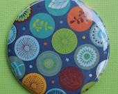 Buy 1 Get 1 FREE SALE Leaf and Flower Paper Pocket Mirror