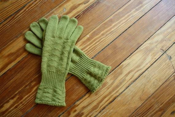 Avocado Vintage Riding Gloves