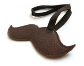 Tutorial Leather moustache luggage tag  PDF