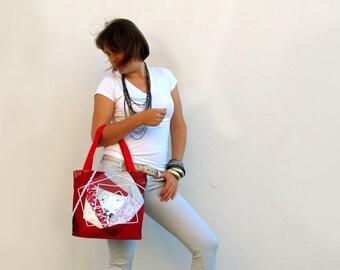 OOAK Patchwork Bag PASSION