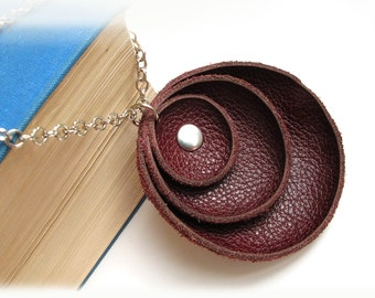 Tutorial Leather pendant  PDF