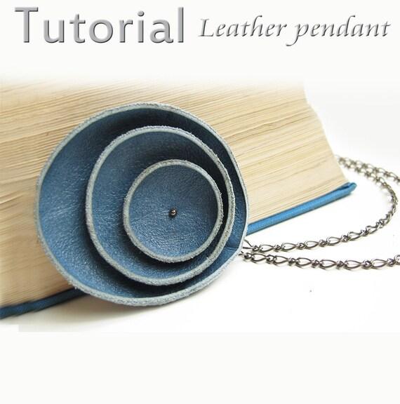 Tutorial Leather pendant  PDF