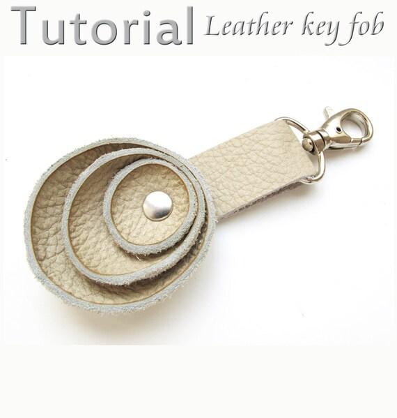 Tutorial Leather key fob  PDF