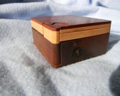Lacewood Four Layered Wooden Jigsaw Puzzle Box