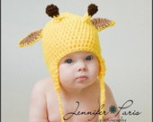 Custom Giraffe Hat  Great PROP or GIFT Pre-Teen and Adult size