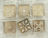 Crystal Square Pattern Stamp