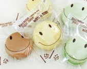 Smile Cookie Transparent Cellophane Bags (60 bags)