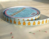 Cookie man Paper Decor Tape 0.5 inch (adhesive)