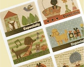 Animal Friends just for you Stickers (8 EA)