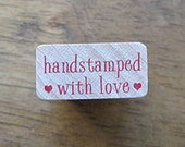 Handstamped with Love Stamp