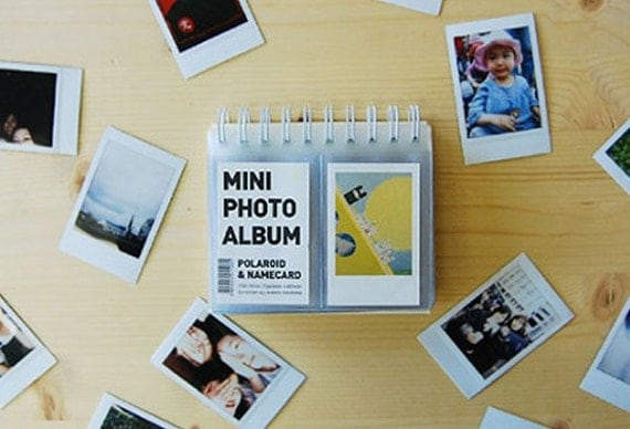 mini polaroid photo album stand 72 pockets by wonderlandroom. Black Bedroom Furniture Sets. Home Design Ideas