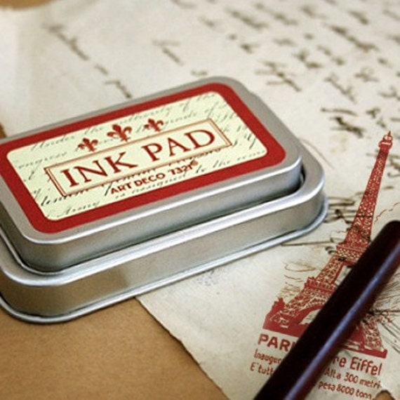 Oil Based Ink Pad - RED