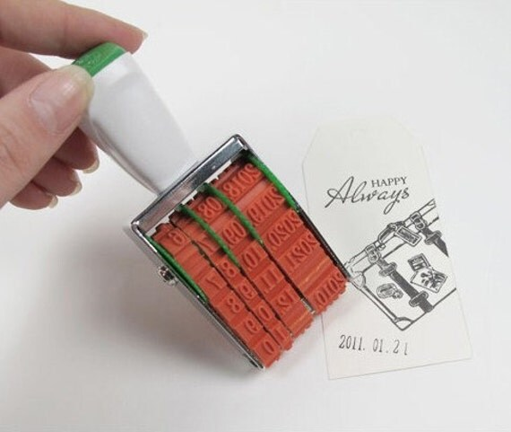 DATE Rolling Stamp 0.2 inch (5 mm)