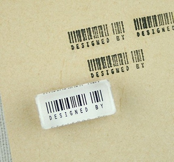 Barcode Crystal mini Stamp