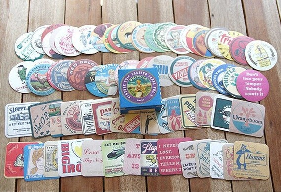 Vintage Coster Label Stickers box vol. 2 (70 sheets)
