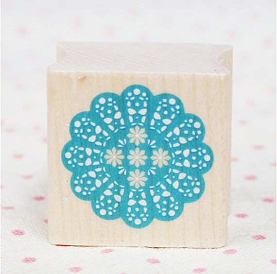 Lace Doily Stamp