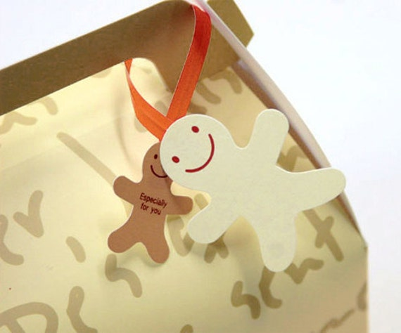 Ginger Man Wire Tie for Gift Wrapping (10 pcs)