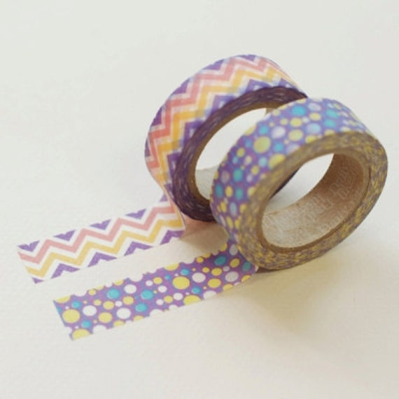 2 SET - Mystic Adhesive Masking Tapes 0.6 inch