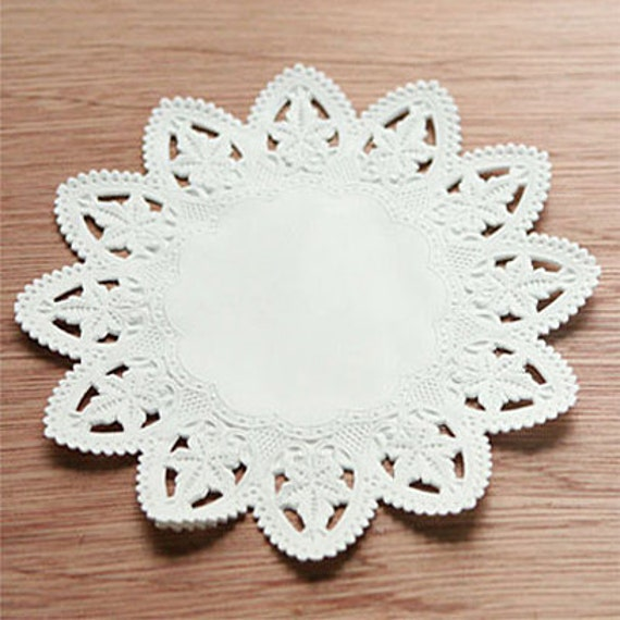 Star Shaped Paper Doily 6 inch (50 sheets)