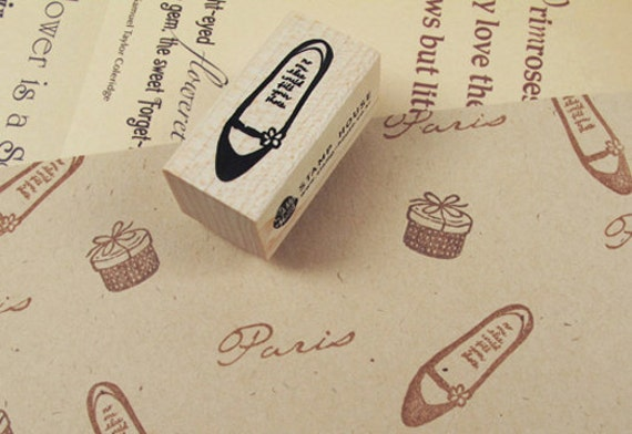 Flat Shoes Stamp