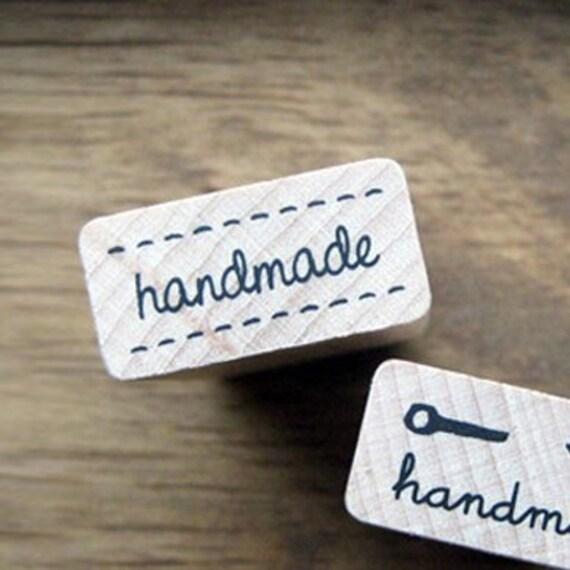 Handmade Stamp - Stitch