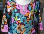 Reserved Listing for toyareed - Dashiki Shirt Tunic and bows