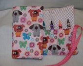 Girly Puppy Crayon Journal