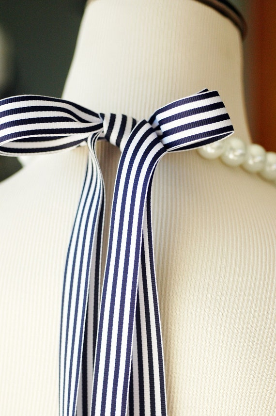 16mm Perfect Bridesmaid Necklace-Pearl Necklace w/Ribbon Tie WEDDING JEWELRY Maid of HONOR