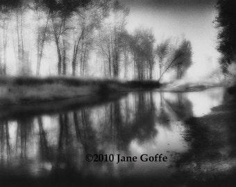 River Reflections -  Silver Gelatin Photograph