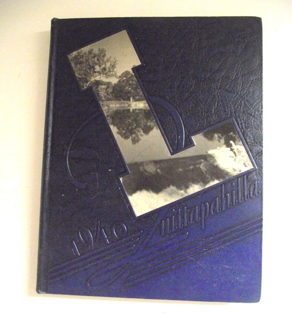 1940 Quittapahilla Yearbook for Lebanon Valley College, PA