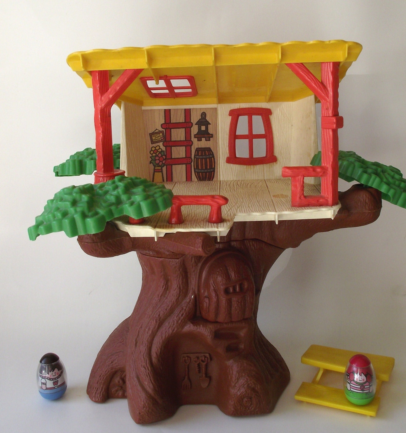 1970 S Toys : S original weeble wobble clubhouse tree house