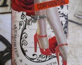 LA Confidential  Another Mature Artist Trading Card ACEO On Etsy