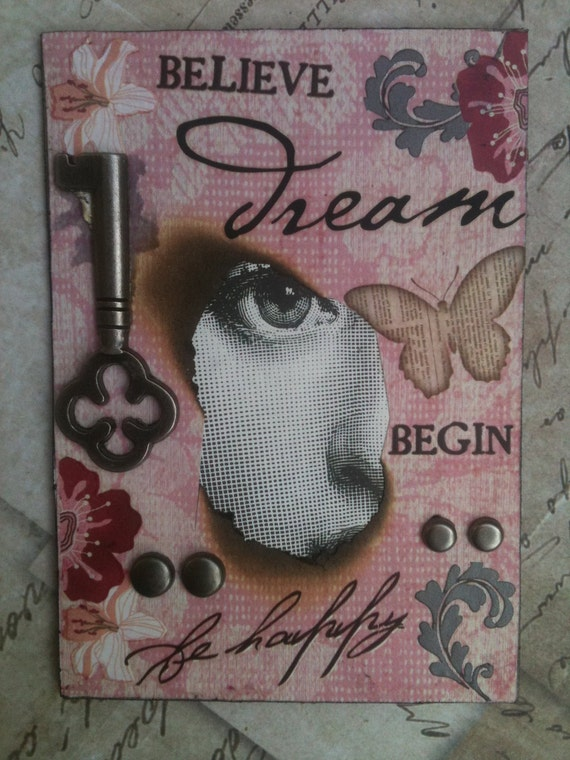 Believe - Another Very Altered Artist Trading Card By AlteredHead