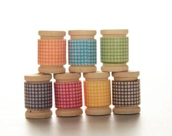 Japanese Washi Tape PRETTY Rainbow GRID Assortment   Birthday Party Favors & Decor, Garland, Rainbow Decor