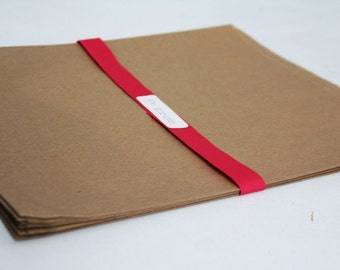 Kraft Paper Bags 12 x 15 Lot of 150