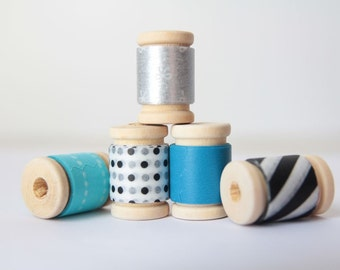 1950s Style Japanese Washi Tape Assortment ||  Birthday Party Decor, Baby Shower Decor, Party Favors