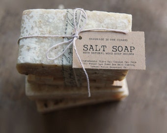 SALT SOAP bar Made In The OZARKS