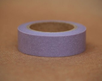 LAVENDER SOLID-  Single Roll 15 mm