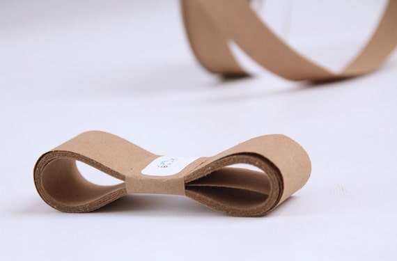 KRAFT 100 Percent Recycled Paper Ribbon 30 Yards