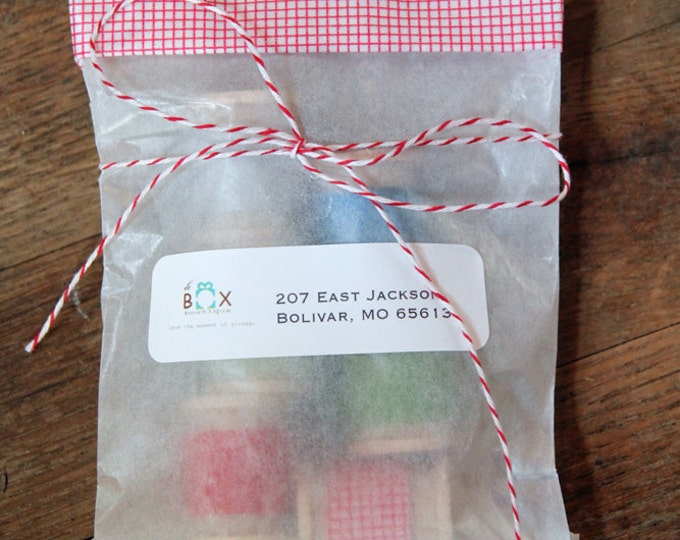 5 3/4 x 7 3/4 Glassine Bags set of 50    Wedding Favor Bags, Treat Bags, Business Card Envelopes, Candy Bags, Washi tape bags
