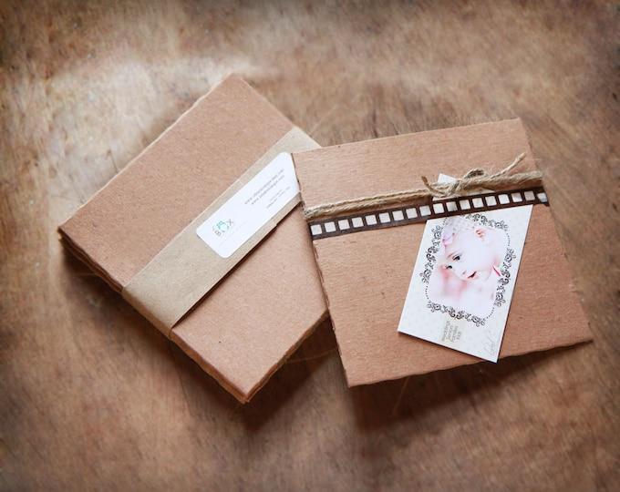 Recycled Kraft CD Sleeves- Set of 50   wedding cd sleeve, kraft envelope, cd cover, wedding songs favor, photography packaging