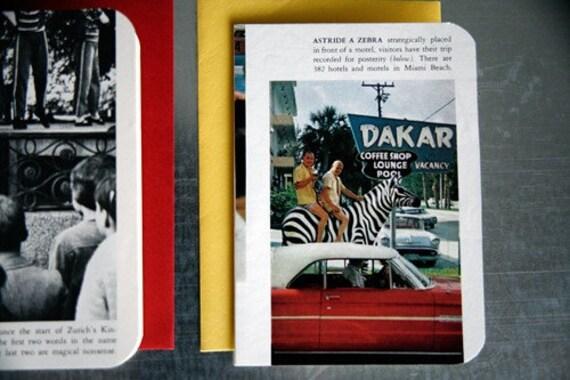 Vintage LIFE World Library Card Set