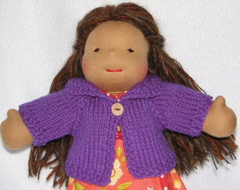 Doll Sweater for 10 inch Doll MADE to ORDER  any color