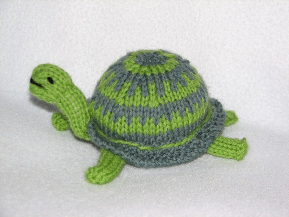 Waldorf Turtle Wool Stuffed Toy