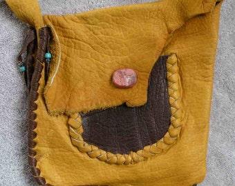 Buffalo leather  purse
