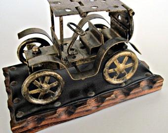 Vintage Old Fashioned Model Car