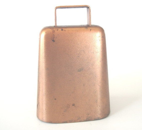 Vintage Copper Cow Bell