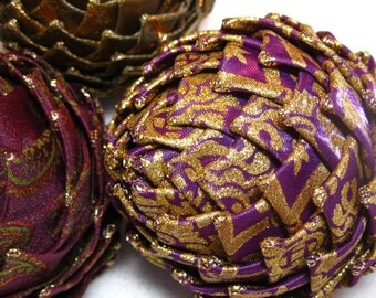 Purple Collectible Christmas Ornament,