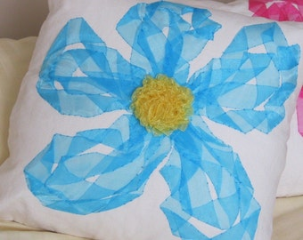 handmade throw pillow cover, custom home decor