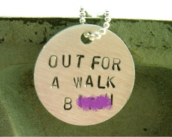 Spike - Out For A Walk B necklace (mature)
